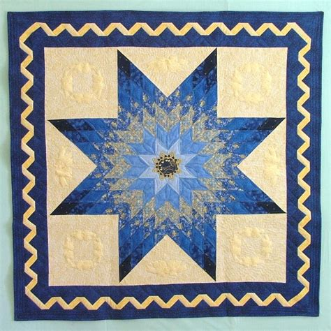 quilt pattern star of bethlehem bethlehem star wall quilt with machine embroidery