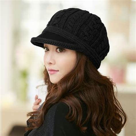 how to wear a knit hat knit beret hat for winter wear womens hat buyhathats