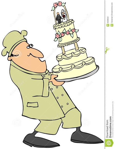 Wedding Cake Bakers by Wedding Cake Baker Stock Photography Image 8328022