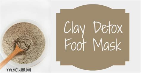 Detox Clay Foot Bath by Best 25 Foot Detox Ideas On Foot Detox Soak