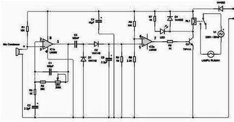 cara membuat makalah elektronika cara membuat lu otomatis sensor tepuk tangan