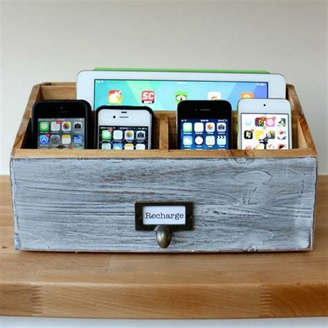 house charging station 15 cool and clever diy charging stations house design