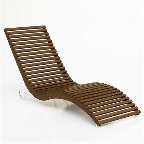 Outdoor Furniture Lounge Chairs by 3d Tacchini Slalom Lounge Chair High Quality 3d Models