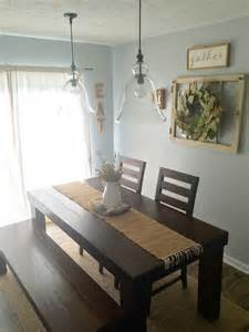 ideas for dining room table decor dining room decor farm house table pottery barn pendants