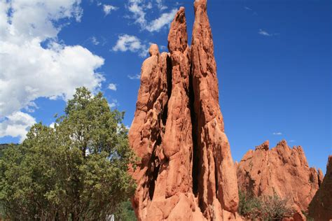 Garden Of The Gods Rock Formations From Colorado Springs To Pueblo Tracks