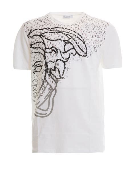 Versace Ori half medusa t shirt by versace collection t shirts ikrix