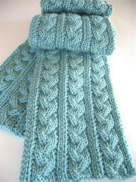 knitting patterns scarf pinterest free knitting pattern for braided cable scarf and more