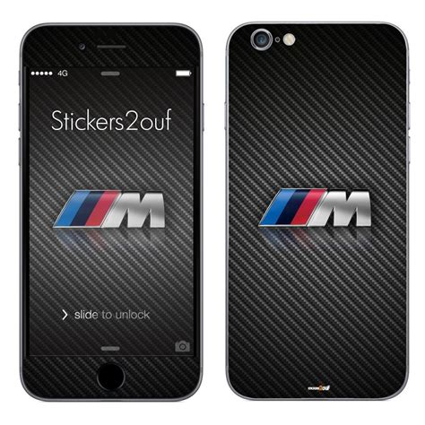 skin autocollant logo m iphone 6 et 6s stickers
