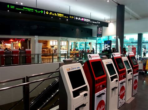 airasia early check in upgrading works in klia2 follow this airasia travel