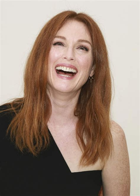 julianne moore julianne moore at suburbicon press conference at 74th