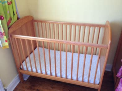 Baby Cot And Changing Unit Station Table For Sale Matching Cot And Change Table Set
