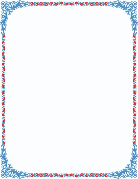 color frame image result for pretty color page borders clip