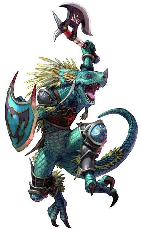 lizardman aeon calcos soul calibur