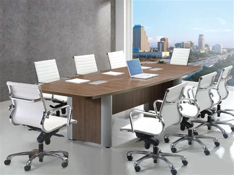 Extendable Meeting Table Classic Plus Boat Shaped Extendable Conference Table