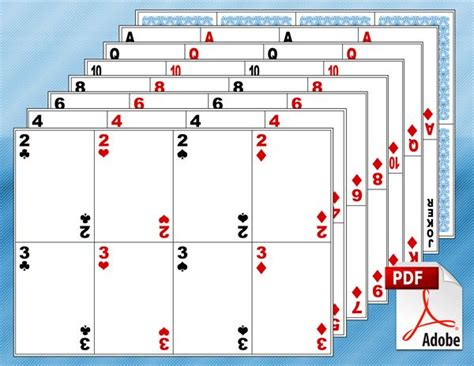 playing card template bikeboulevardstucson com 64 best templates images on pinterest free printable