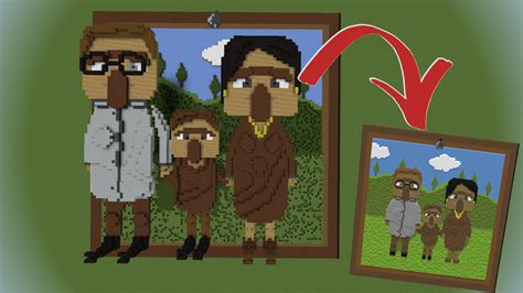How to make custom paintings in minecraft youtube