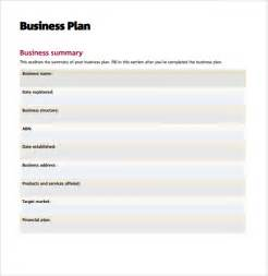 Business Plan Free Templates Sample Business Action Plan 8 Example Format