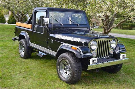 Jeep Cj 8 1984 American Motors Jeep Cj 8 Scrambler Suv 196044