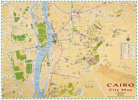 where is cairo on a map cairo map my