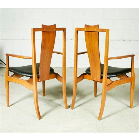 asian style dining room chairs set   chairish