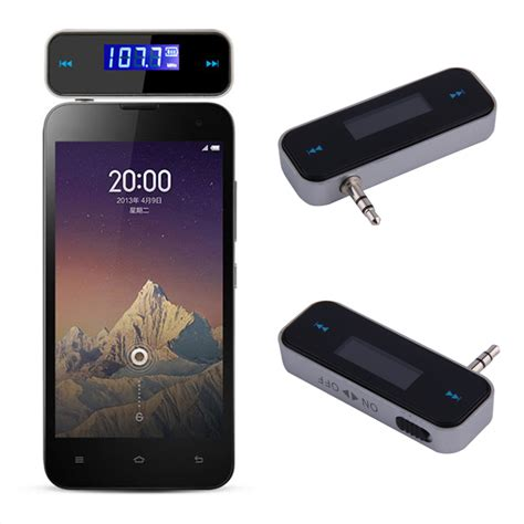 Fm Transmitters Mobil 3 5mm Fm20 new 3 5mm mini car fm transmitter kit fm with usb cable for mobile phones selling in
