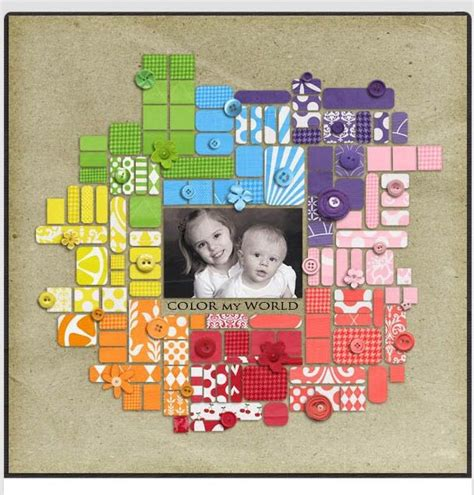 scrapbook layout with 6 photos 17 best images about layout inspiration on pinterest