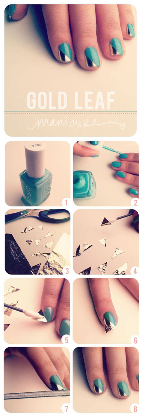 herringbone nail art tutorial 12 amazing diy nail art designs