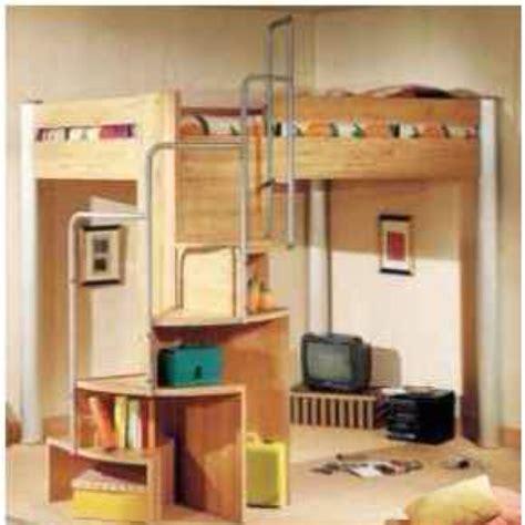 bunk bed desk on pinterest loft bed plans desk plans loft bed spiral stairs shelves furniture plans