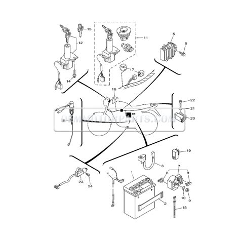 ybr 125 headlight wiring diagram wiring diagram with