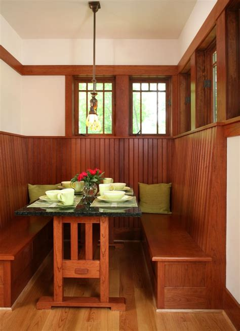 banquette seating dream kitchens pinterest craftsman 179 best craftsman style kitchens images on pinterest