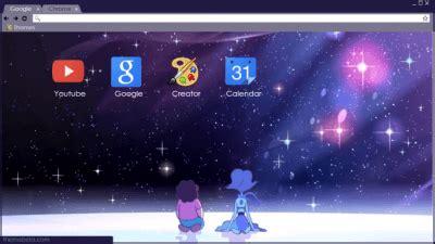 universe theme for google chrome steven universe chrome themes themebeta