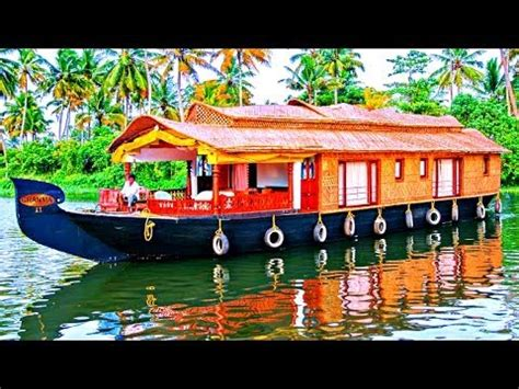boat names in tamil beautiful alleppey houseboats kerala india youtube