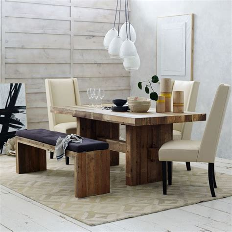 West Elm Rustic Dining Table We Both A Rustic Sturdy Looking Dining Table This One Is From West Elm A Store Will Be