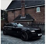 """Gangster Blacked Out Rolls Royce Ghost By Our Friends At"