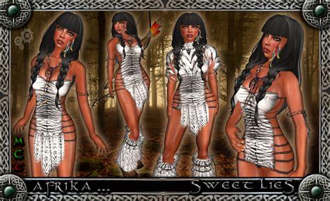 Ij Rc Afika Dress second marketplace promo afrika white sweet lies