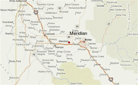 meridian location guide
