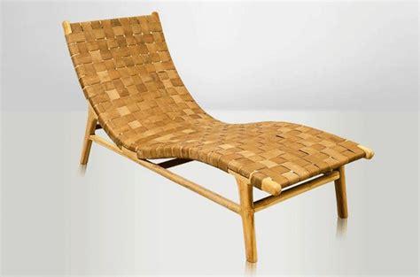 Chaise Longue Cuir by Chaise Longue Contemporaine Chaise Longue En Cuir Chaise