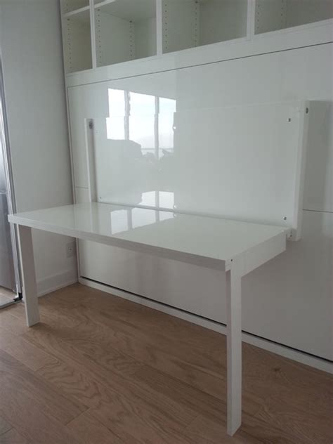 white murphy bed high gloss white murphy bed with desk contemporary