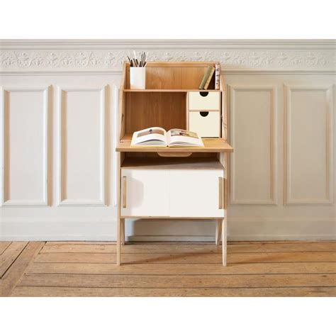 white sliding door desk origami s ethinicraft wooden writing desk with doors and