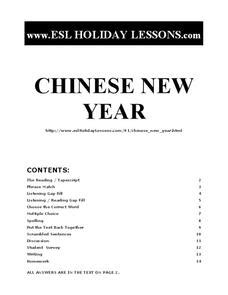 new year lesson plans esl new year esl lesson 9th 12th grade worksheet