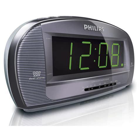 philips aj3540 37 big display clock radio big display dual alarm sleep timer am fm tuner