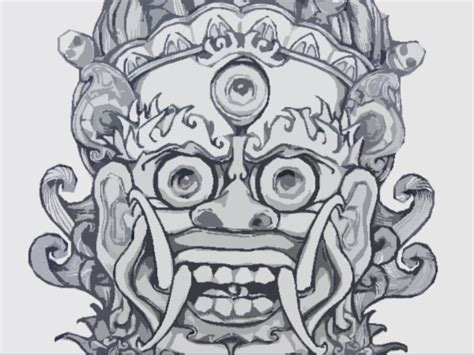 chinese demon mask by zer0kn1ght on deviantart