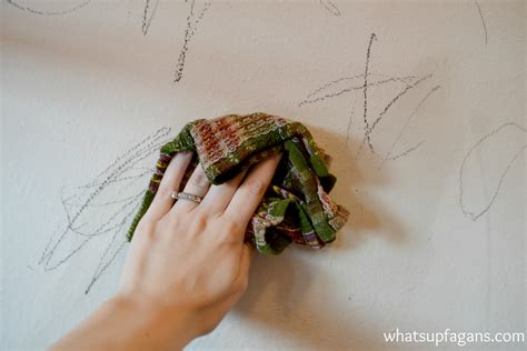 how to clean painted walls 7 methods that actually work to remove crayon from walls