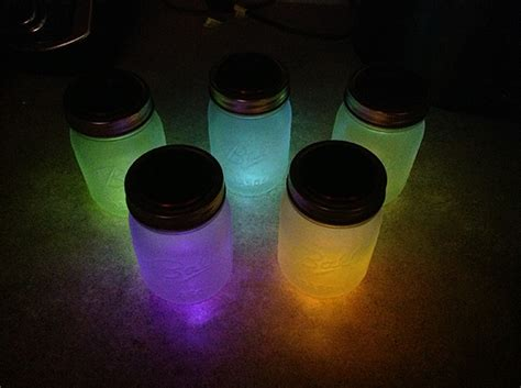 Diy Solar Powered Mason Jar Lights Lantern Craft Tutorial How To Make Solar Powered Lights