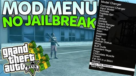 game hack mod offline ps3 gta 5 install usb mod menu s tutorial no jailbreak