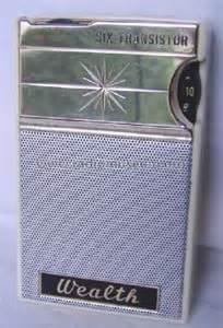 transistor ft wealth six transistor ft 646 radio funai electric co