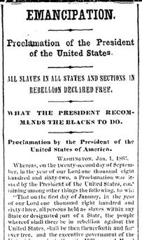 printable version of emancipation proclamation brooklyn public library brooklyn in the civil war