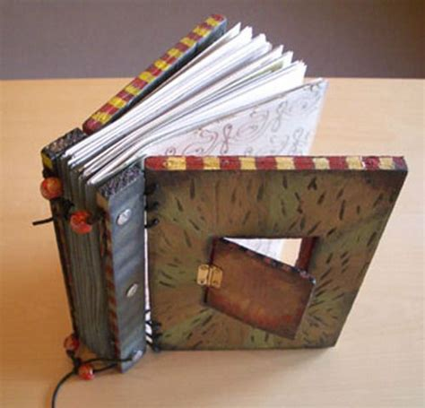 Handmade Book Cover Ideas - cover books book and photo journal on