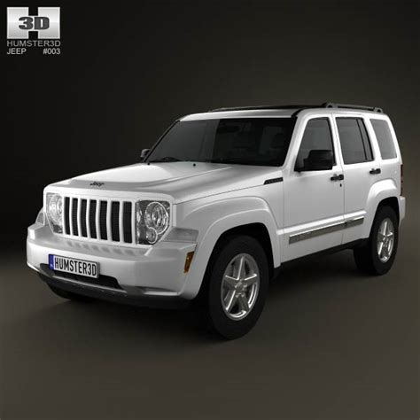 Jeep Liberty Cherokee 2008 3d Model Humster3d
