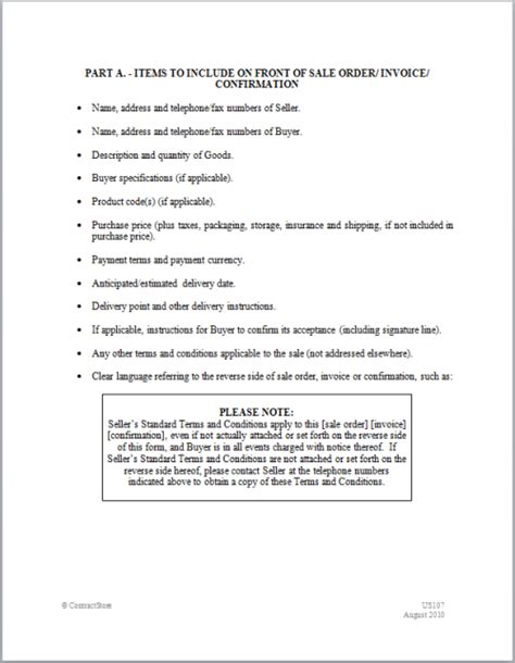 terms and conditions template sales terms and conditions template free 28 images